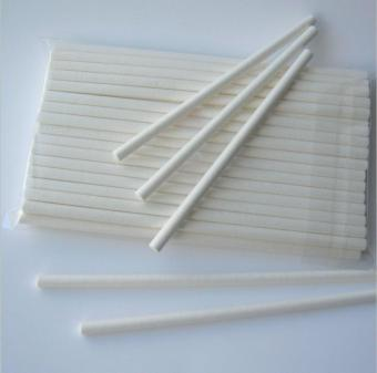 Oasis Supply Sucker Lollipop Sticks, 11cm by 0.4cm , White, 1000-Pack - intl