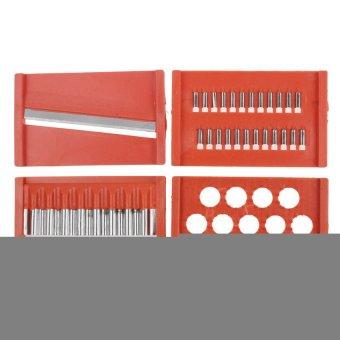Multi Functional Vegetable/Fruit Cutters Processing Kitchen Tool (Orange)