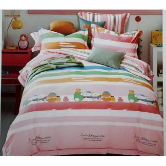 jaxine bedcover set satin/katun jepang tinggi 40 sumikkogurashi