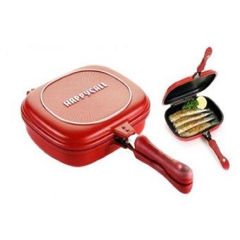Harga Gila Happy Call Double Pan 32 cm - Merah