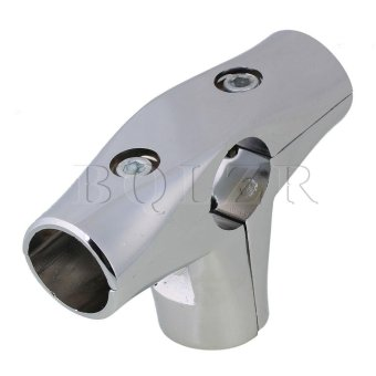 3.2cm 4 Way T Shaped Pipe Fitting Connector Silver