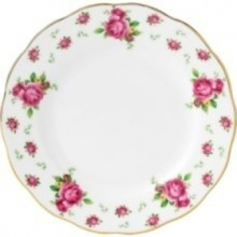 Royal Albert New Country Roses White Formal Bread & Butter Plate - intl