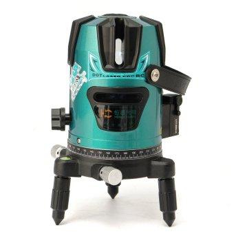 Green Slash 520nm DiagonaRotary Laser Line Beam Leveling LevelMeter Tripod Kit - intl