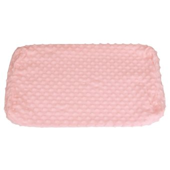 Soft Pillow Cases Memory Pillow Cases Neck Cervical Healthcare(Pink) - intl