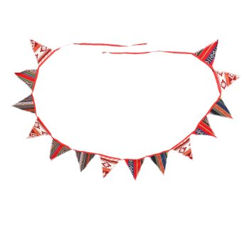 S & F 118 Inch Indian Style Flag Banner Bunting Home/Wedding/Birthday Party Decor
