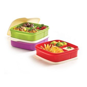 Tupperware Lolly Tup3pcs- Multi Colour