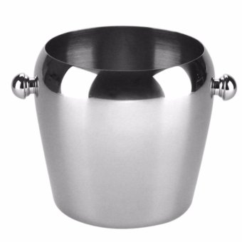 Reusable Stainless Steel Ice Cube 4pcs Es Batu Stainless Page 2 Source · Harga Stainless Steel Ice Bucket Wine Cooler Whisky Wort Chiller With Portable ...