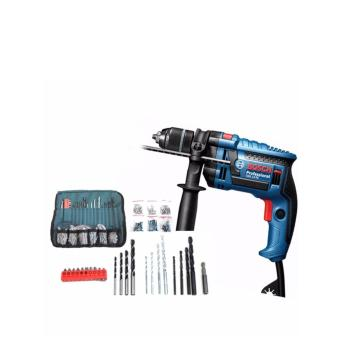 Bosch 650W electric hammer drill GSB13RE + Pouch 100PCS - intl