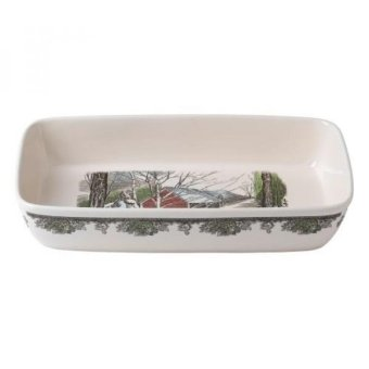 GPL/ Johnson Brothers Friendly Village Rectangular Baker/ship from USA - intl