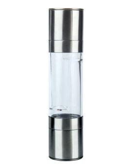 toobony 2 in 1 Stainless Steel Salt And Pepper Grinder Dual Salt Mill Pepper Mill, Salt Pepper Grinder Shaker - intl