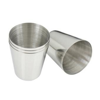 Harga Bluelans berkemah di luar ruangan biliar memoles stainless steel cangkir pinggul untuk botol minuman keras