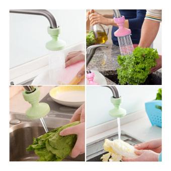 ... Sambungan Kran Air Plastik Keran Air Sambung Dapur Kamar Mandi Portable KA 02 Green