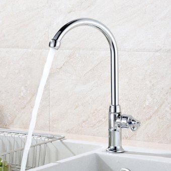 high qualityFashion-zinc alloy, single high temperature, vertical wall-mounted swivel, single cold kitchen tap - intl