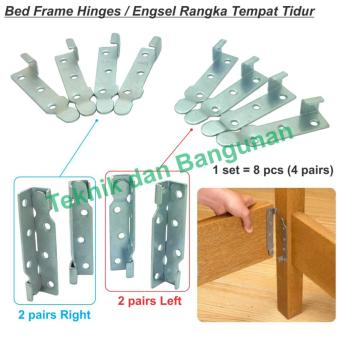 Harga OEM Bed Frame Hinges / Engsel Rangka Ranjang Medium @5set/box