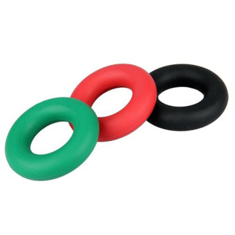 3 Piece Hand Grip Finger Forearm Strength Trainers Exercisers 3 Levels in Different Colors (Green & Black & Red)