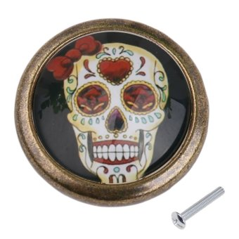 BolehDeals Skull Closet Door Dresser Drawer Cabinet Cupboard Pull Knob Handle Decor #73
