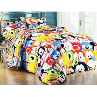 Alona Ellenov Tsum Tsum Bed Cover Set 160 x 200 x 20 cm - Multicolour