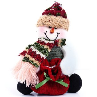 S & F Christmas candy bags - Snowman
