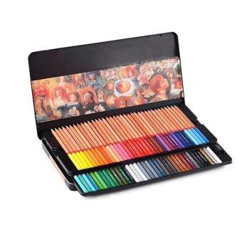 YBC 72 pcs 3.7mm Colors Wood Non-toxic Oily Profissional Colored Pencil - intl