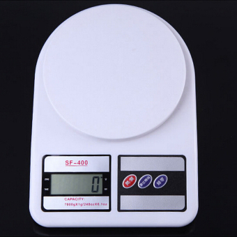 Electronic Scale Portable Ultrathin Home Kitchen Food Weight Scaleg/oz up to 5kg - High Precision - intl