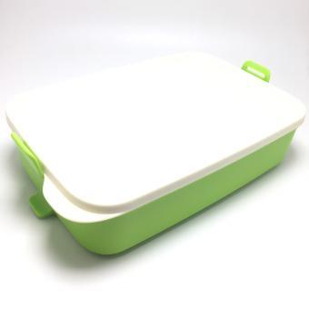 Tupperware Click To Go Satuan / Tempat Makan - Hijau