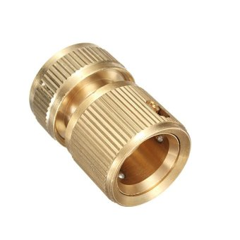 Copper Brass Home Garden Car Washing Water Hose Pipe Plumbing Connector 1/2