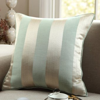 Noble and Grace Yarn Dyed Jacquard Cushion Cover GYK002-2 Blue
