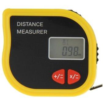 CP-3001 Ultrasonic Distance Measurer Laser Point with 1m TapeMeasurer - intl