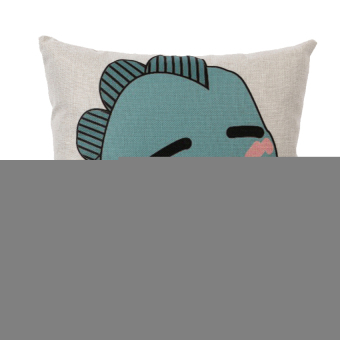 HKS Cartoon Dog Pillow Case (Blue)