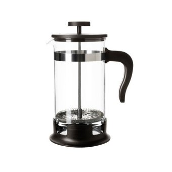 IKEA French Press Coffee Press - Coffee Tea Maker 400 ml [Hitam]