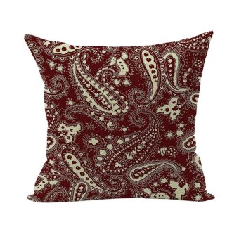 Abstract Pattern Linen Cushion Cover Cotton Throw Pillow Case
