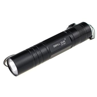 SMALL SUN ZY-551 Mini LED 80lm 1-Mode White Flashlight - Black (1 x AA)