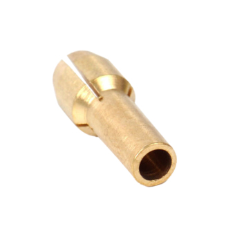 BolehDeals 10x 4.8mm Shank Brass Drill Chucks Collet Bits for Rotary Tool 2.4mm