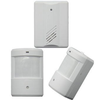 Vococal Entry Alarm Chime Doorbell (White)