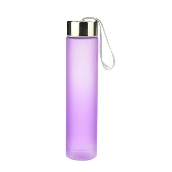 HAOFEI OEM Juice Water Bottle Frosted 280ML Purple