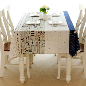 HKS 60 * 60 Linen Tablecloths European Tour Towerlandscape - intl