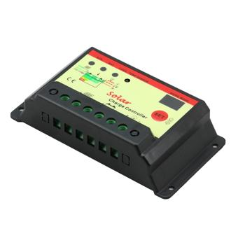 Panel Surya Solar Charger Charge Controller Charger Baterai Batre Aki 12V DC 24V DC 10 Amp Microcontroller