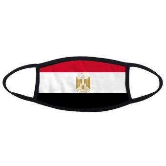 Egypt National Flag Africa Country Symbol Mark Pattern Face Anti-dust Mask Anti Cold Maske(Multicolor) - intl