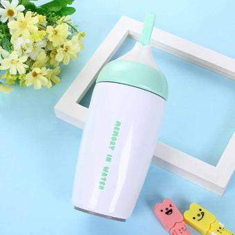1pc 280ML Stainless Steel Warm Vacuum Flask Thermos Travel Mug Bottle Cup Latest - intl