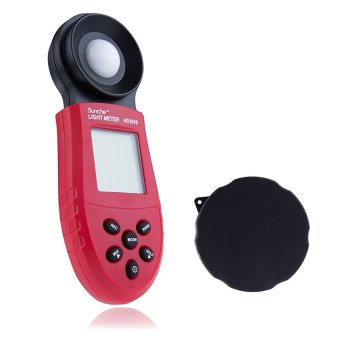 200.000 Lux Digital Light Meter HS1010 Lux FC Meter LuminometerPhotometer Meters LCD Screen for Environmental Illumination Testing - intl