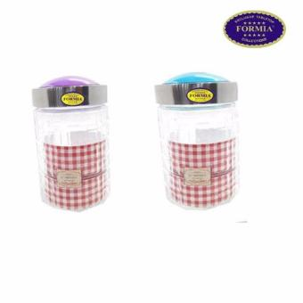 Harga Formia Toples Canister 1.0Ltr Blue&Purple FR81532 - 2Pcs