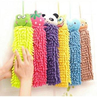 Lap Tangan Microfiber Karakter Hand Towel Handuk - 1 Pcs · >>>>