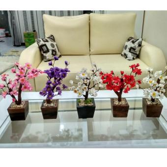 Ohome Bunga Artifisial An B000327u Pikok 5 Cabang Dekorasi Rumah Source ·  124 bunga bunga kupu 9ab6acee04