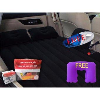 Kasur Mobil Sondpex Kualitas Premium - Hitam Free Vacuum Cleaner Mobil