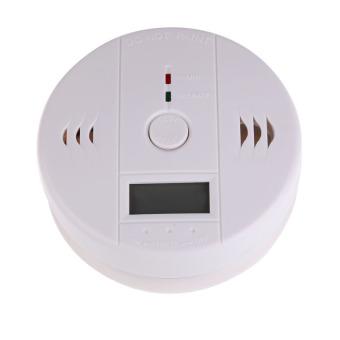 HKS Home Security Safety CO Gas Carbon Monoxide Alarm Detector (White)
