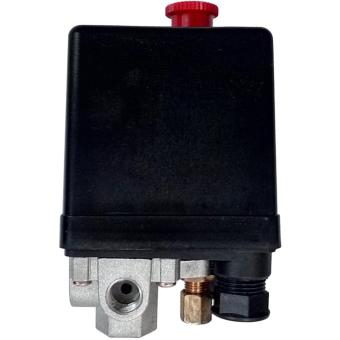 Otomatis Compressor 1/2 - 1 HP 4 Way Air Compressor - Hitam