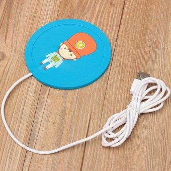 Harga 5 V USB Silikon Panas Pemanas Hangat Susu Cangkir Teh Dan Kopi Cangkir Minuman Panas
