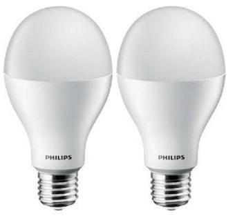 Philips Lampu LED 18w 2pcs - White