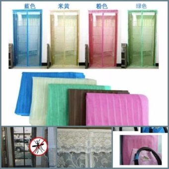 Harga Tirai Pintu Magnet Anti Nyamuk magnetic curtain magic mesh pengusir Best seller .