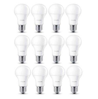Philips LED Bulb - 10.5W - 12 Pcs - Putih